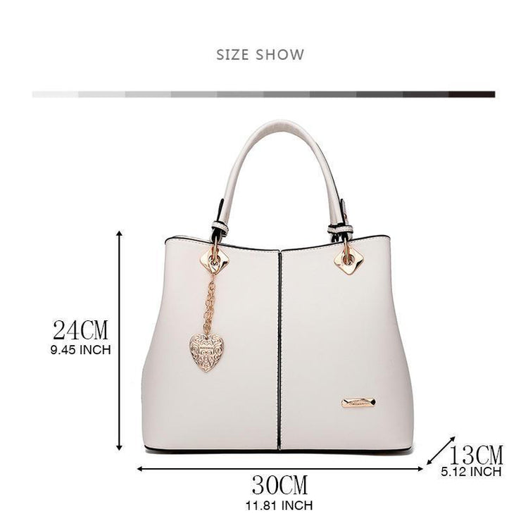 Elegant Women Multi Pockets Rivet Handbags