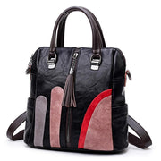 Multifunction Women Large Capacity Patchwork Backpacks