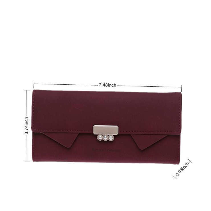 Women New Design Multi-Compartment Trifold Wallet