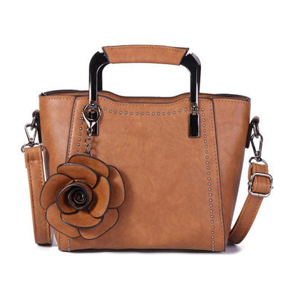 Women Elegant Vintage Multifunction Daily Handbag Crossbody Bags