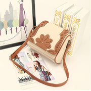Hollow Out Patchwork Women Crossbody Bags