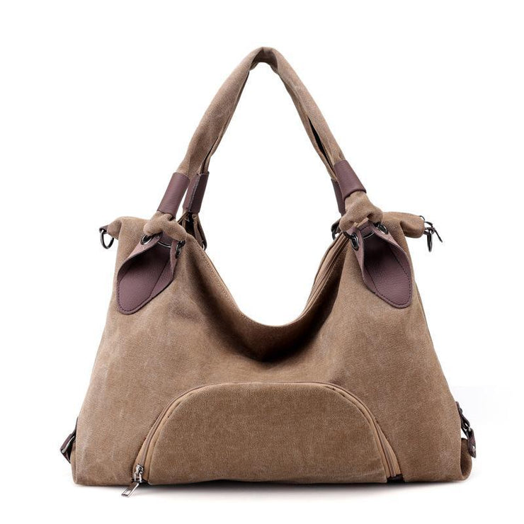Large Capacity Canvas Handbag Shoulder Bag
