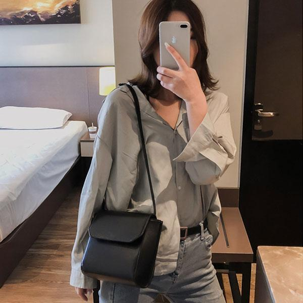 Plain Daily Shoulder Bag