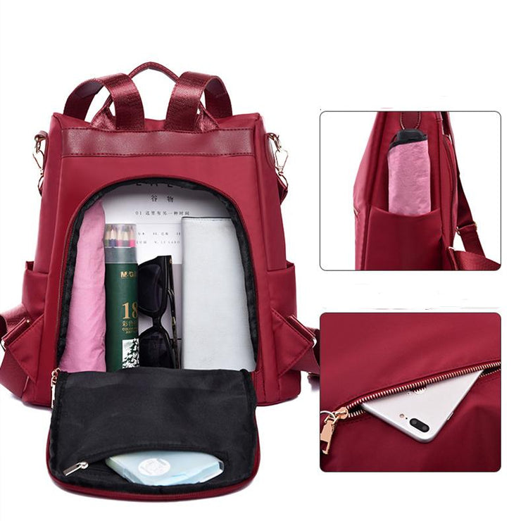 female waterproof Oxford cloth bag large capacity outdoor travel bag