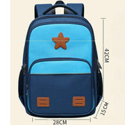 Lightweight Waterproof Multi-pocket Schoold Bag for Kids