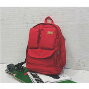 Canvas Backpack Student Laptop Bag