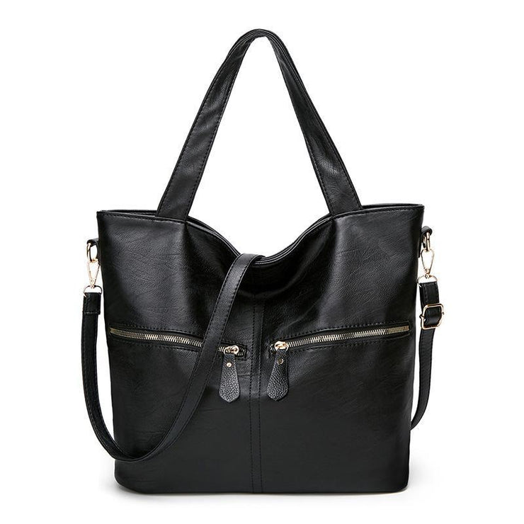 Female Large Capacity Soft Handbag