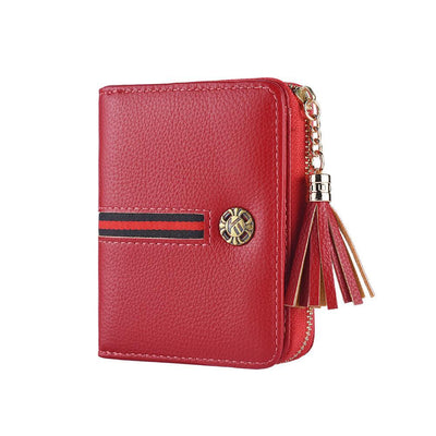 135150 Women's short wallet European and American organ change card package multi-card ID card holder