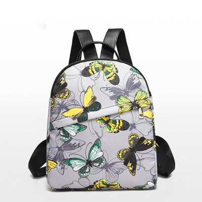 Fashion Butterfly Printed School Backpack