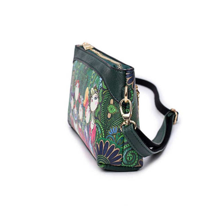 Fashion Printed Clutch Wallet Handbag