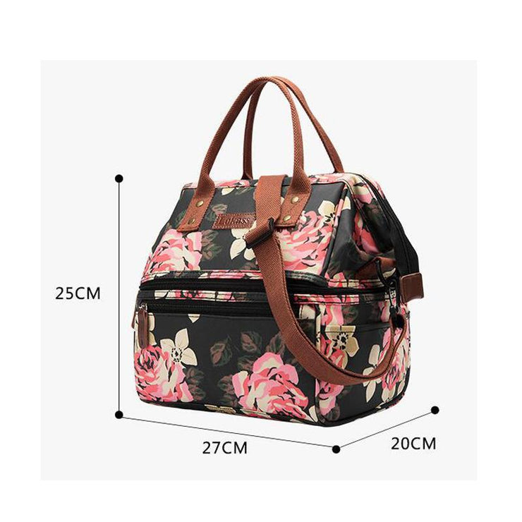 135354 Lunch bag Oxford cloth insulation bag picnic lunch box cold student lunch box bag