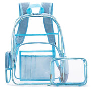 135368 New transparent waterproof pvc beach bag fashion backpack creative jelly handbag