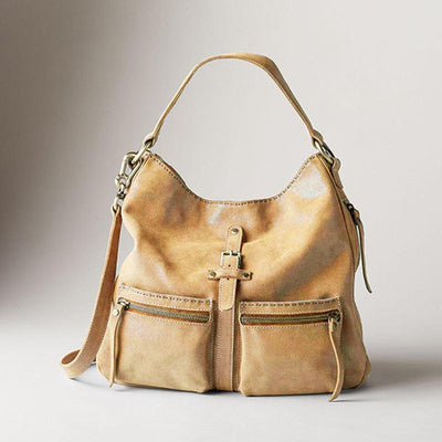 135470 Women Soft Hobos Classic Handbag Solid Crossbody Bag