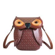 135780 Women's Single Shoulder Oblique Spin Bags Cartoon Animal Bags
