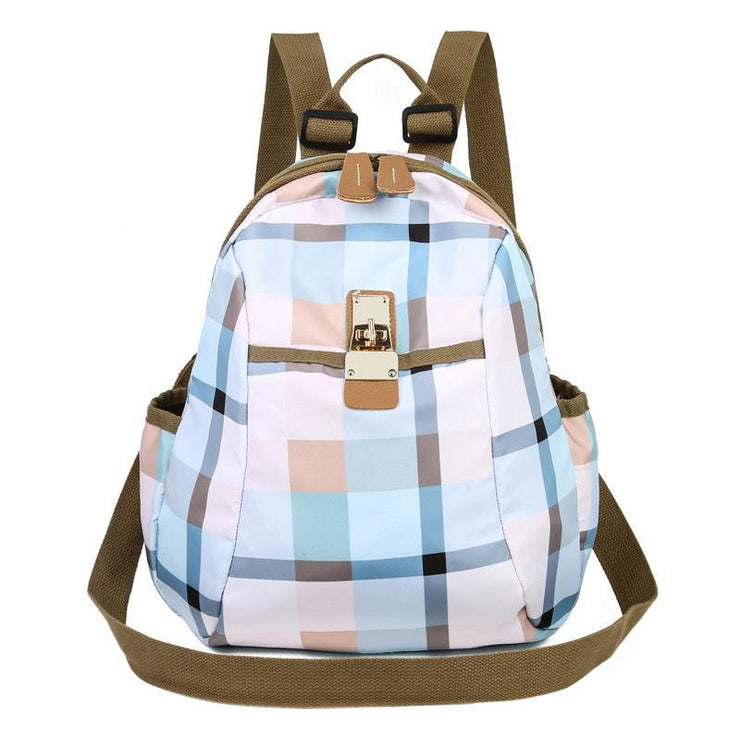 Oxford Multi-Function Anti-theft Fashion Student Backpack