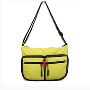 Women's light-weight folding shoulder bag