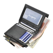 Women's short multi-card zipper wallet