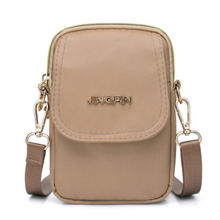 Women's fashion nylon mini shoulder bag