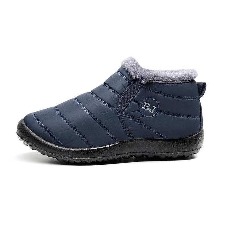 Women's Winter Snow Boot Outdoor Waterproof Slip On Athletic Casual Walking Ankle Shoes