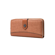Women's new fashion  long retro multi-function wallet