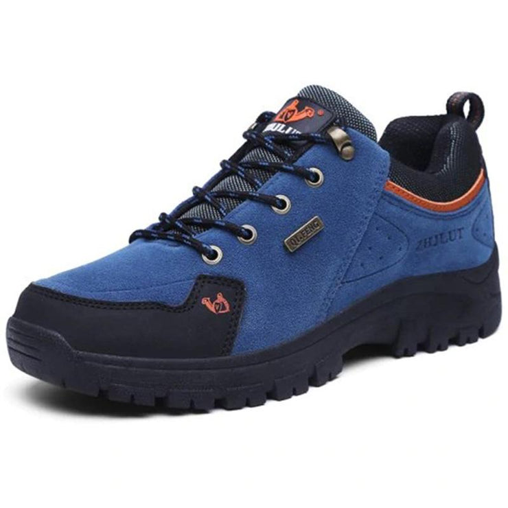 Men's Suede Plush All Seasons Outdoor Fashion Shock-Absorbing Sneakers