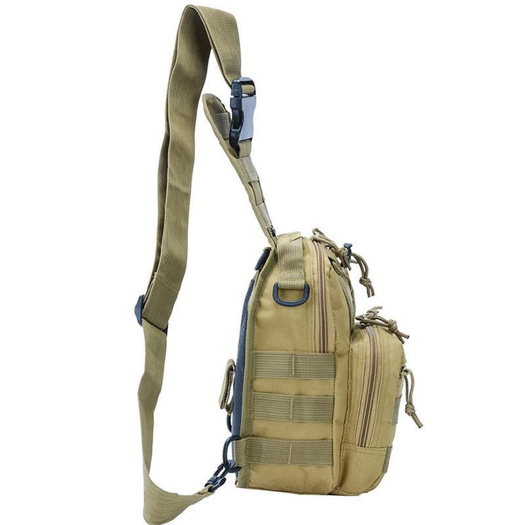 Men's Outdoor Sports Riding Tactical Chest Bag