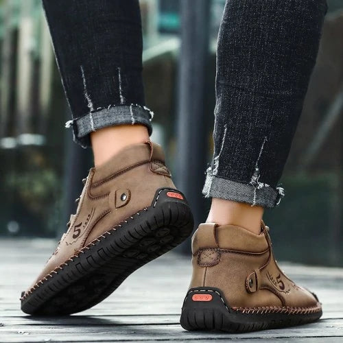 Men's Super Fiber Large Size Breathable Men Outdoor Casual Shoes