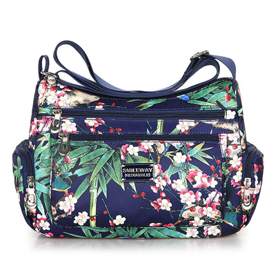 Women's Printed Waterproof Multifunctional Casual Crossbody Bag