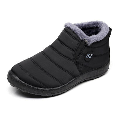Men's Warm Cotton Soft Bottom Waterproof Snow Boots