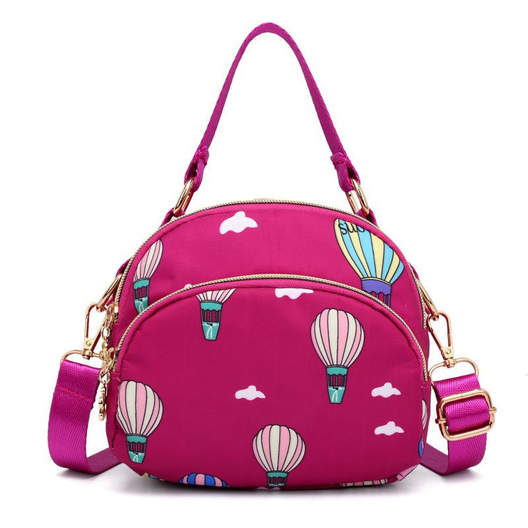 Women's nylon casual crossbody shoulder bag