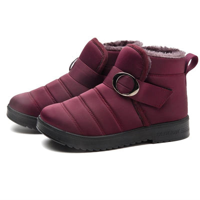 Women's  Middle-aged cotton shoes ladies winter snow boots fashion warm old Beijing mother shoes