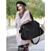 Women's Large-capacity One-shoulder Portable Waterproof Handbags Crossbody bags
