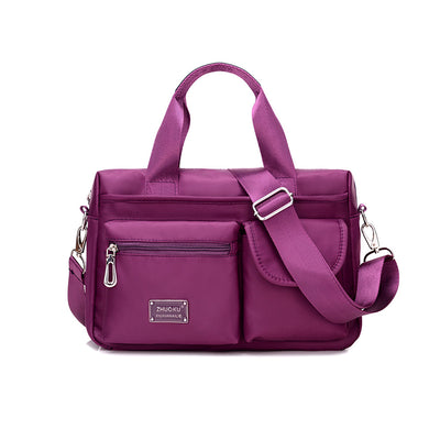 Women's Nylon Portable Multifunctional Waterproof Handbags Crossbody Bags