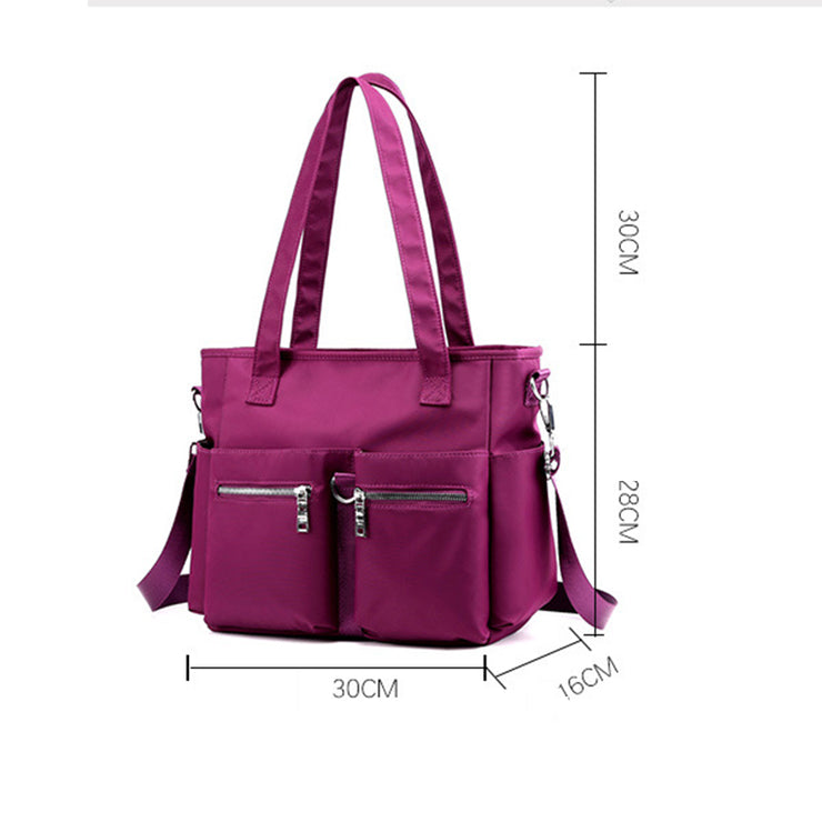 Women's Large-Capacity Nylon Handbags Crossbody Bags