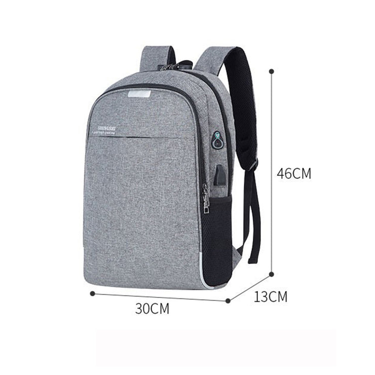 Men's Multifunctional Anti-theft Travel Backpack Usb Rechargeable