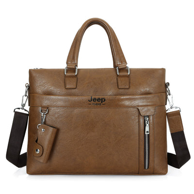 Men's Business Fashion Briefcase Handbag Casual Laptop Bag