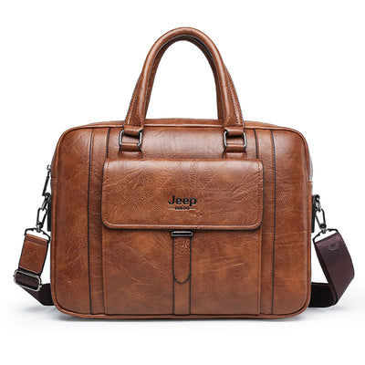 Men's Handbag Business  Laptop Computer Bag Large Capacity Briefcase