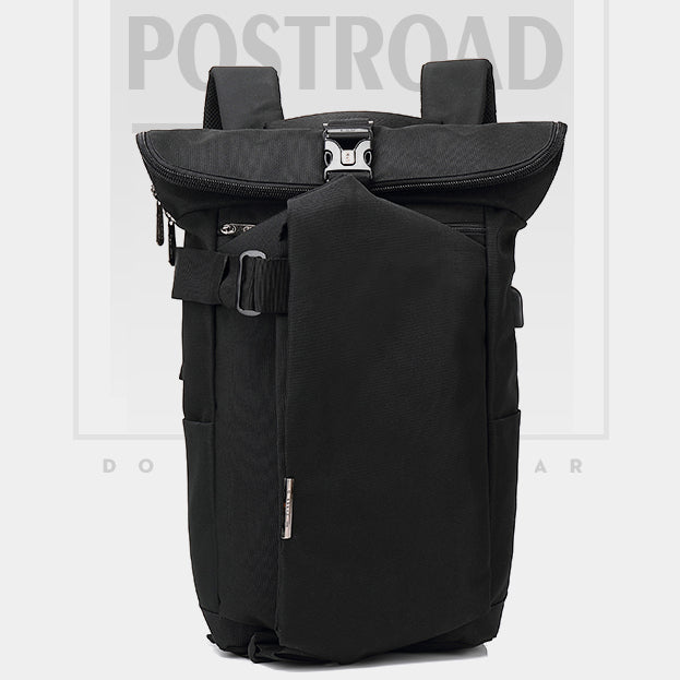 Men's Backpack Casual USB Rechargeable Travel Backpack