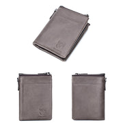 Men's wallet large capacity multi-card album album bit split wallet