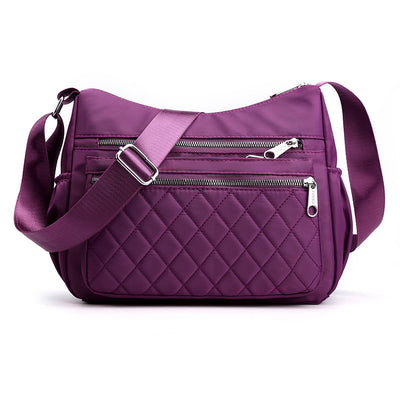 Women's fashion nylon diagonal diagonal bag