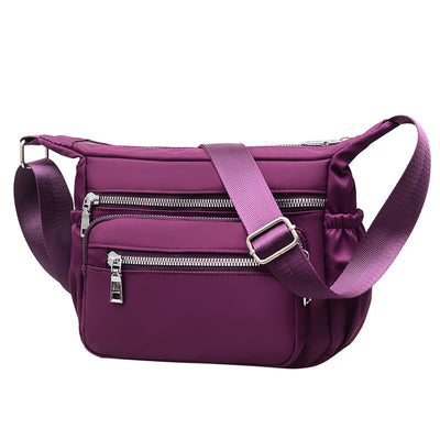 Women's Single Shoulder Bag Waterproof Messenger Bag Outdoor Leisure Bag