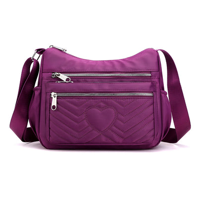 Women's Large Capacity Shoulder Bag Outdoor Leisure Multi-compartment Travel Bag