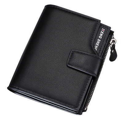 Men's wallet Casual Three fold multi function Wallet