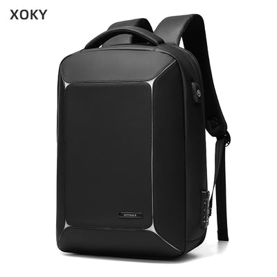 Men USB Charging Business Backpack Computer Bag Travel Backpack