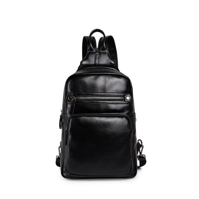 Men's backpack male chest pack casual messenger bag shoulder bag shoulder bag