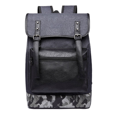 Men casual backpack student bags computer bag Oxford cloth shoulder bag man