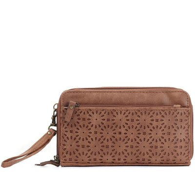 Women's Dual Zip Purse