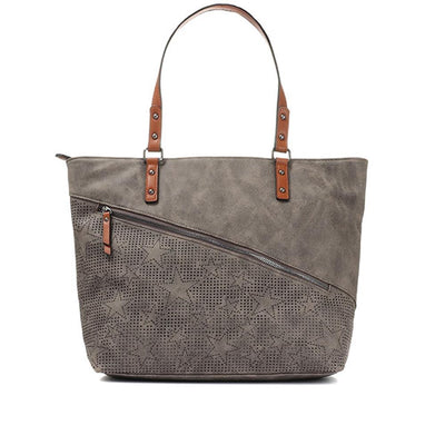 Women's Star Embellished Tote Bag
