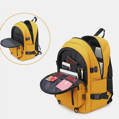 Waterproof Large Capacity College Style Laptop Backpack