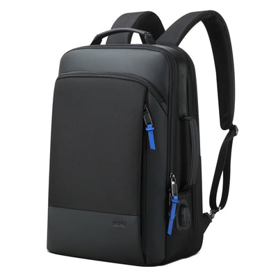 Men's Waterproof Business Large Capacity Multi-function USB Backpack